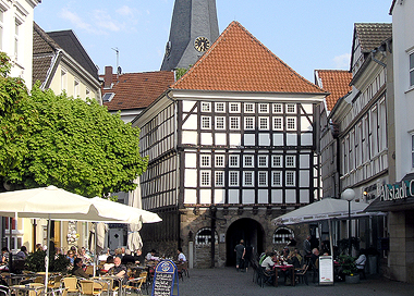 Gastronomiebetriebe In Der Altstadt Hattingens